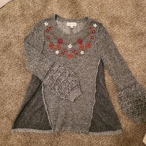 Knox Rose puff sleeve sweater